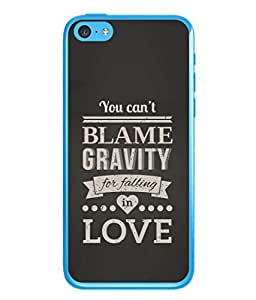 PrintVisa Designer Back Case Cover for Apple iPhone 5c (Love Lovely Attitude Men Man Manly)
