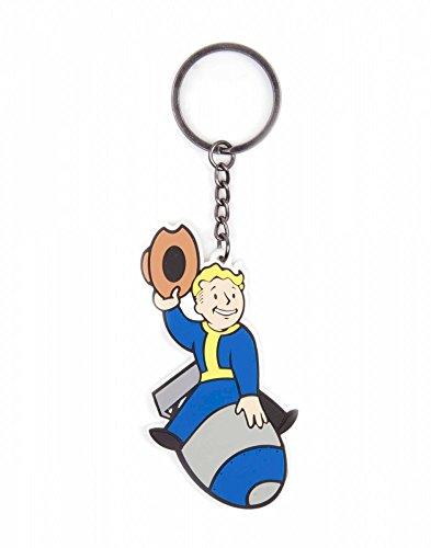 Preisvergleich Produktbild Fallout Original Unisex Accessoires Schlüsselanhänger Bomber 100% Kautschuk