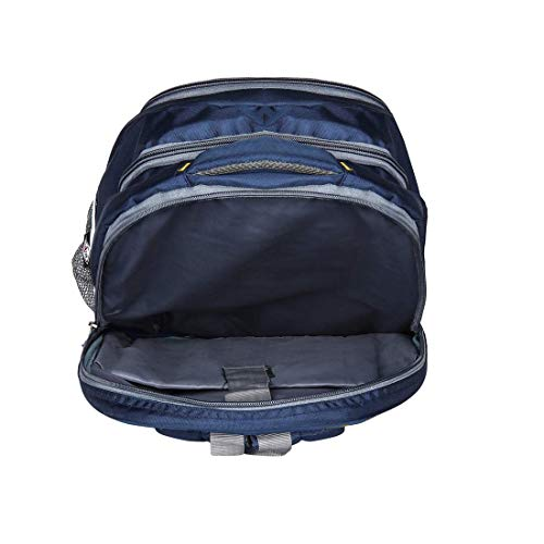 Drazo 35 Liters Navy Good Quality Backpack with Laptop Compartment. Image 5