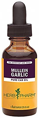 Herb Pharm Mullein/Garlic Compound Supplement, 1 Ounce from Herb Pharm