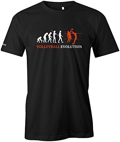 Jayess Volleyball Evolution - Herren - T-Shirt in Schwarz by Gr. XL