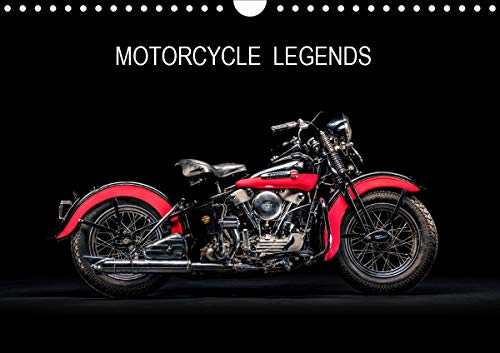 Motorcycle Legends (Wall Calendar 2020 DIN A4 Landscape): A selection of great classic motorbikes (Monthly calendar, 14 pages ) (Calvendo Technology)