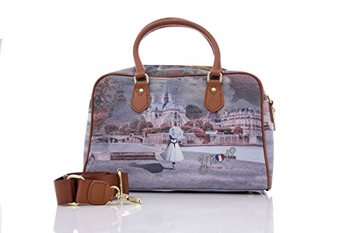 Y NOT? BORSA DONNA BOSTON BAG I-337 Mademoiselle