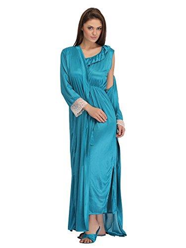 Clovia - Chemise de nuit - Femme Bleu