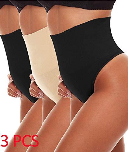 8788640c6a726c NINGMI Mujeres Cintura Media Control de la Barriga Tanga Cuerpo Sexy Fajas  Corsé Que Adelgaza Las
