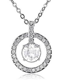 Swarovski 1039065 - Collar de mujer de platino, 40 cm