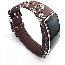 Samsung Galaxy Gear Fit R350Smart Watch Reloj para pulsera pulsera Accesorios Flower-016
