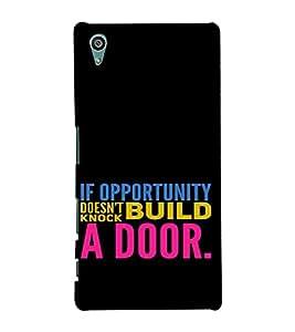 PrintVisa Motivational Quotes Design 3D Hard Polycarbonate Designer Back Case Cover for Sony Xperia Z5