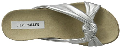 Steve Madden Damen Danea Slipper Hausschuhe Silber (Silver)