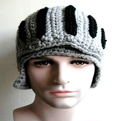 Lovemay Warme Wintermütze Strickmütze Strickmütze Hat Römische Krieger Adapt für Junge, 25-35cm