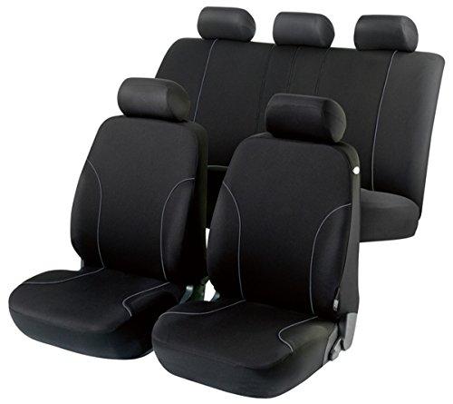 Preisvergleich Produktbild Timon 60630, Sitzbezug Schonbezug Autositzbezug, Komplett Set, Schwarz