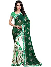 Sarees ( Sarees For Women Party Wear Offer Designer Sarees Below 500 Rupees Sarees For Women Latest Design Sarees... - B071DRQVK2