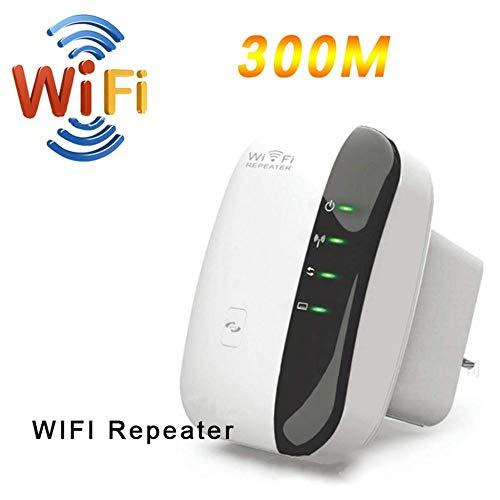 YPSMLYY Wi-Fi Range Extender WiFi Gauss Wireless-Relais 300 Mbit/S Wifiblast-Verstärker WiFi-Booster WPS-Funktion Neuer Chip -