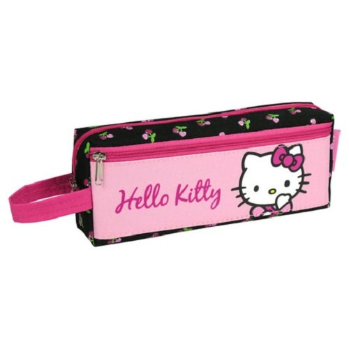 HELLO KITTY TROUSSE 2 COMPARTIMENTS TROUSSE BEAUTÉ MAQUILLAGE SANRIO (A35)