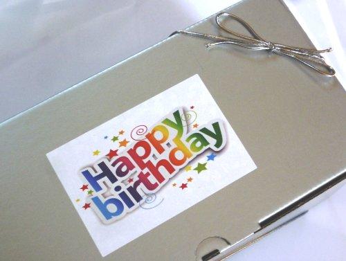 Large Retro Sweets 'Happy Birthday' Box Hamper