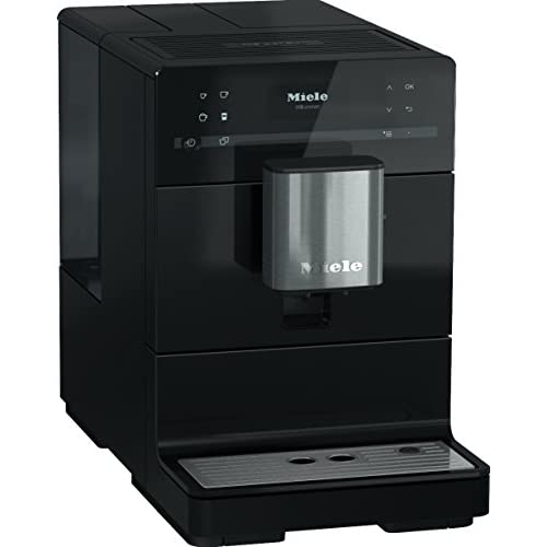 41o4tlUM4rL. SS500  - Miele CM5300 Bean-to-Cup Coffee Machine, 1.5 W, Obsidian Black