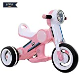 #3: Baybee Mulsanne Battery Operated Ride On Bike for Kids with Music, Horn, Headlights with 25 Kg Weight Capacity - Pink