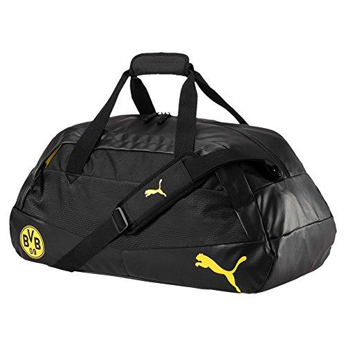 PUMA Bvb Performance M Tasche, Cyber Yellow-Puma Black, 58x31x4 cm (4-wege-tasche)