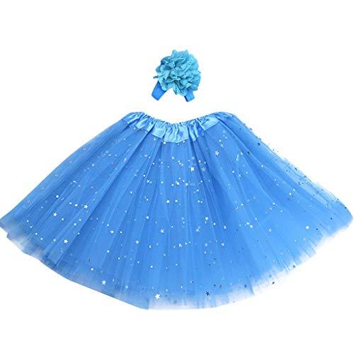 ♥ Loveso♥ Tüllrock Mädchen Ballett Röcke Tutu Rock Ballettrock Tütü Tüllrock für Party Mädchen Kostüm Ballettrock Classic ()