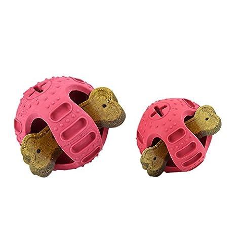 WIDEN Dog Treat Holder Ball Toy Pet Treat Dispenser Pet Round Ball Toy