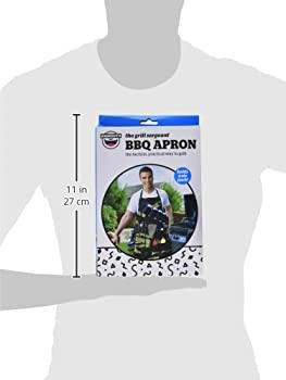 Bigmouth Inc The Grill Sergeant Bbq Apron 5