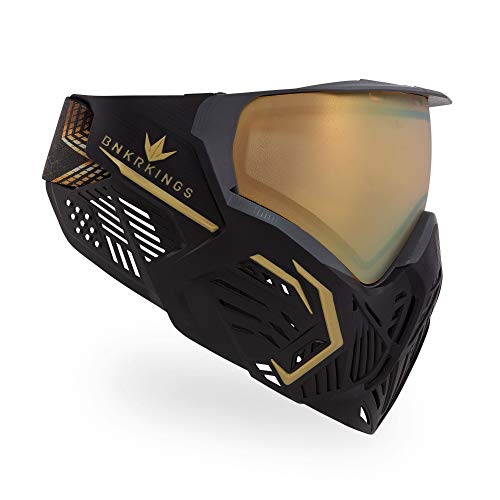 Bunkerkings CMD Thermal Paintball Maske/Goggle - Supreme Gold