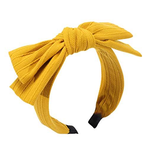 Dicomi Cerchietto per capelli donna, Moda Minimalista Fascia per capelli da donna Printed Headband con Nastro Elastico per Tenere Fascia per Capelli da Matrimonio per Sposa e Damigelle