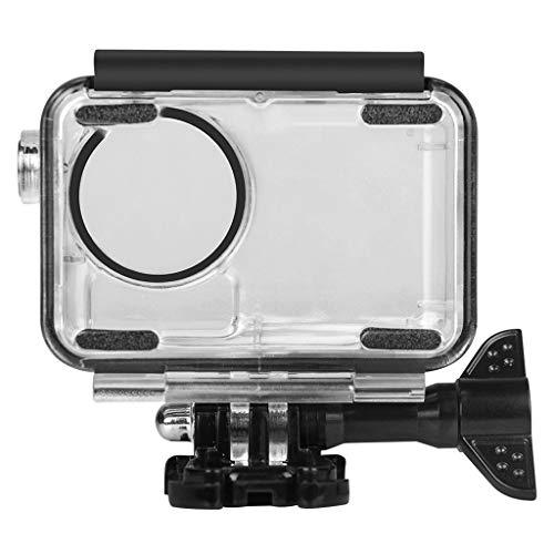 Für DJI osmo Action Kamera wasserdichtes Gehäuse Tauchen Schutzgehäuse Schale 45 wasserdichtes Gehäuse Case wasserdichte gehäuse case Shell tauchen Mehrere schutzhülle (Clear)