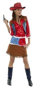 Hilka Cesar D319-005 - Disfraz de vaquera Lola, talla 40