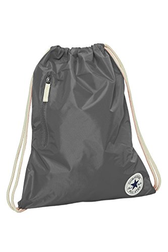 Converse Unisex Core Poly Cinch Gymsack Rucksack Converse Charcoal