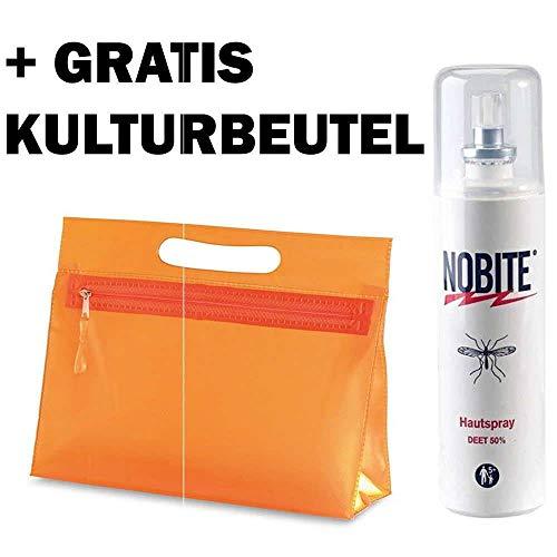 Nobite Anti Mücken Hautspray 100 ml (Insektenschutz Für Kleidung)