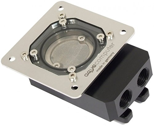 Aqua Computer 34018 Schwarz, Edelstahl - Zubehör für Kühlgerät