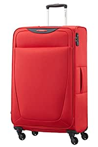Samsonite Base Hits 4 Roues 77/28 Extensible Valise, 77 cm, 104 L, Poppy Red
