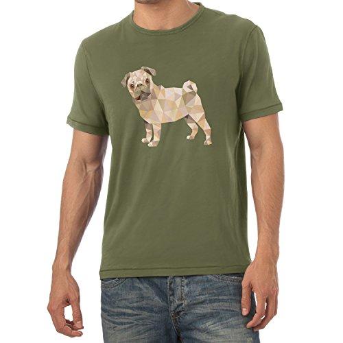 TEXLAB - Poly Pug - Herren T-Shirt Oliv