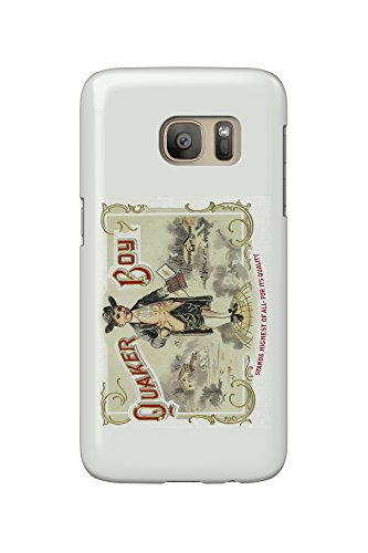 quaker-boy-brand-cigar-box-label-galaxy-s7-cell-phone-case-slim-barely-there