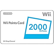 WII 2000 POINTS CARD JUEGO