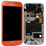 Samsung Mea Front Octa LCD Ersatz-Display Galaxy S4 Mini GT-i9195 orange