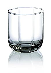 Ocean Tulip Rock Glass, Set of 6, 300ml, Transparent