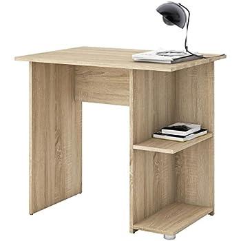 High Quality Schreibtisch Computertisch Kinderschreibtisch KUBA In Sonoma Eiche, Mit 2  Ablageflächen, 82 X 76 X 60 Cm, Bürotisch Pictures