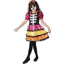 My Other Me Me - Disfraz Catrina esqueleto para niña, 5-6 años (