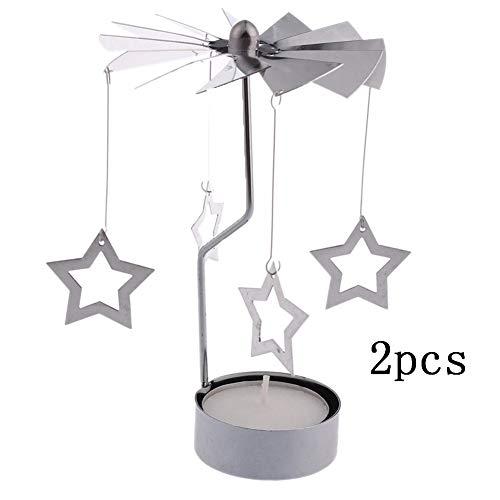 Bledyi Portavelas Navidad Estilo Estrella Candelabros