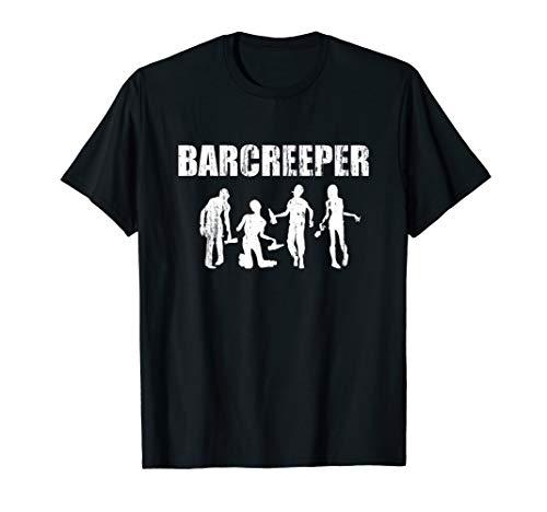 Kostüm Halloween Barkeeper - Barkeeper Halloween Team Kostüm T-Shirt