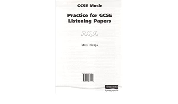 Practice for AQA GCSE Music Listening Paper Pack of 8 (Practice for
