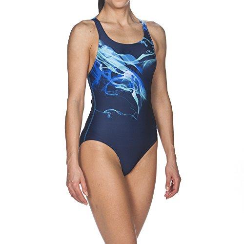 arena Damen Sport Pegasus Badeanzug, Navy-Pix Blue, 42