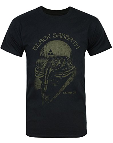 Official T Shirt Black Sabbath Avengers Iron Man US Tour 78 ()