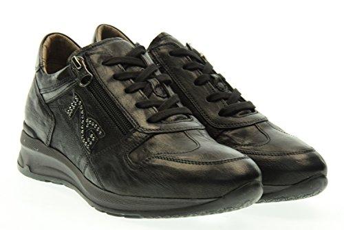 NERO GIARDINI donna sneakers basse A616055D/100 38 Nero