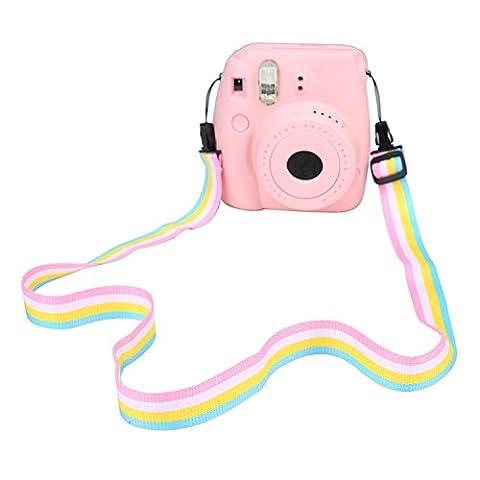 niceEshop(TM) Adjustable Camera Neck Shoulder Strap Belt for Digital Camera / Fujifilm Instax Camera Mini 8 / Mini 8+ / Mini 7s / Mini 25 / Mini 26 /Mini 50s / Mini 90,
