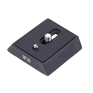 Broadroot 1pc Camera Quick Release Plate for Giottos MH652 MH5001 MH642 GITZO Pan Head