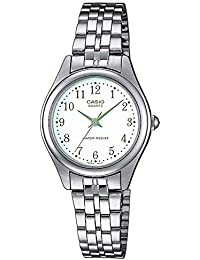 94144afcf541 Casio Reloj Analógico para Mujer de Cuarzo con Correa en Acero Inoxidable  LTP-1129PA-
