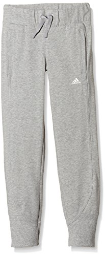 adidas Oberbekleidung Wardrobe Humble Jersey Pants Hose, Grau/Weiβ, 158